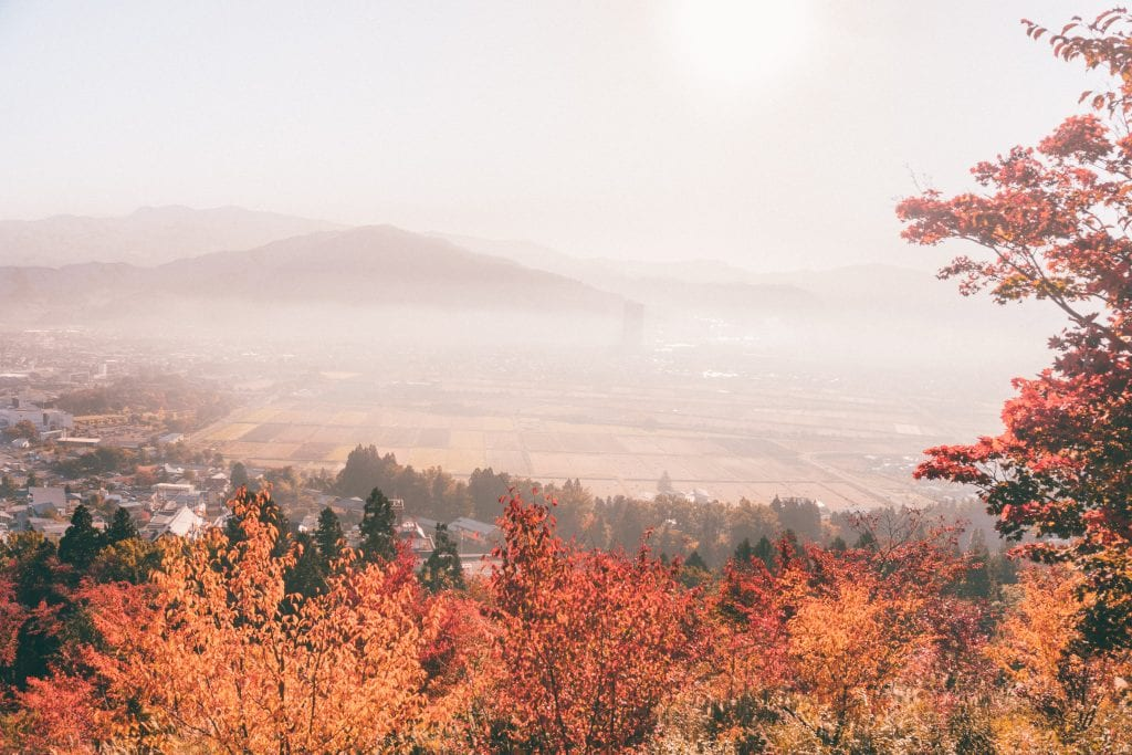 the north of japan